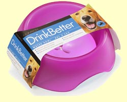 DrinkBetter Dog Bowl - Pink